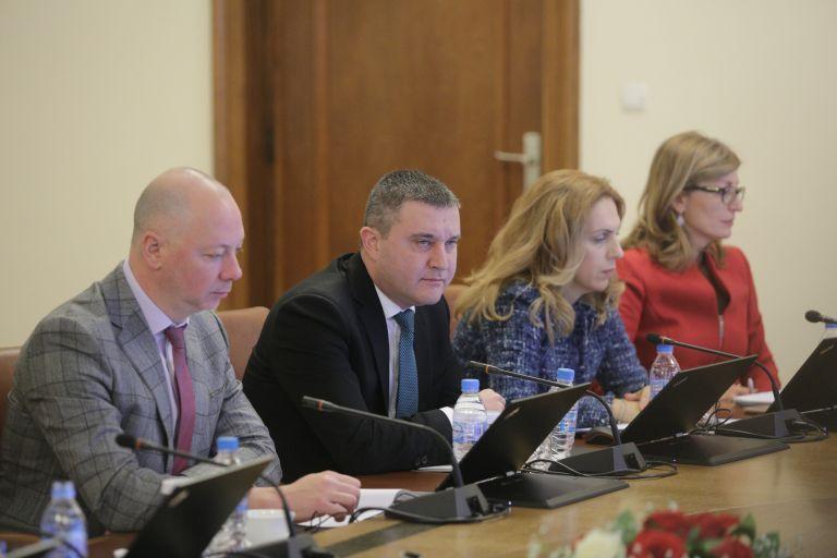 Росен Желязков, Владислав Горанов, Марияна Николова и Екатерина Захариева