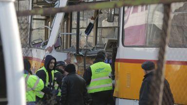 Кой е виновен за верижния сблъсък на трамваите в София?