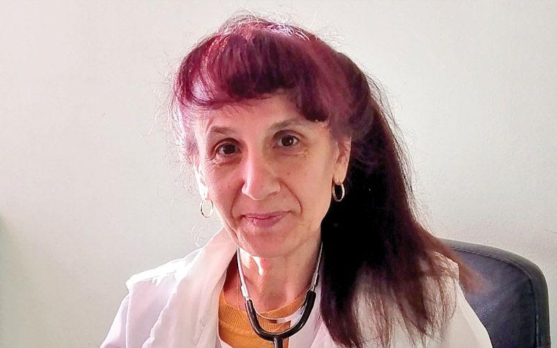 Д-р Ани Михайлова, ревматолог, 04 ДКЦ, Варна