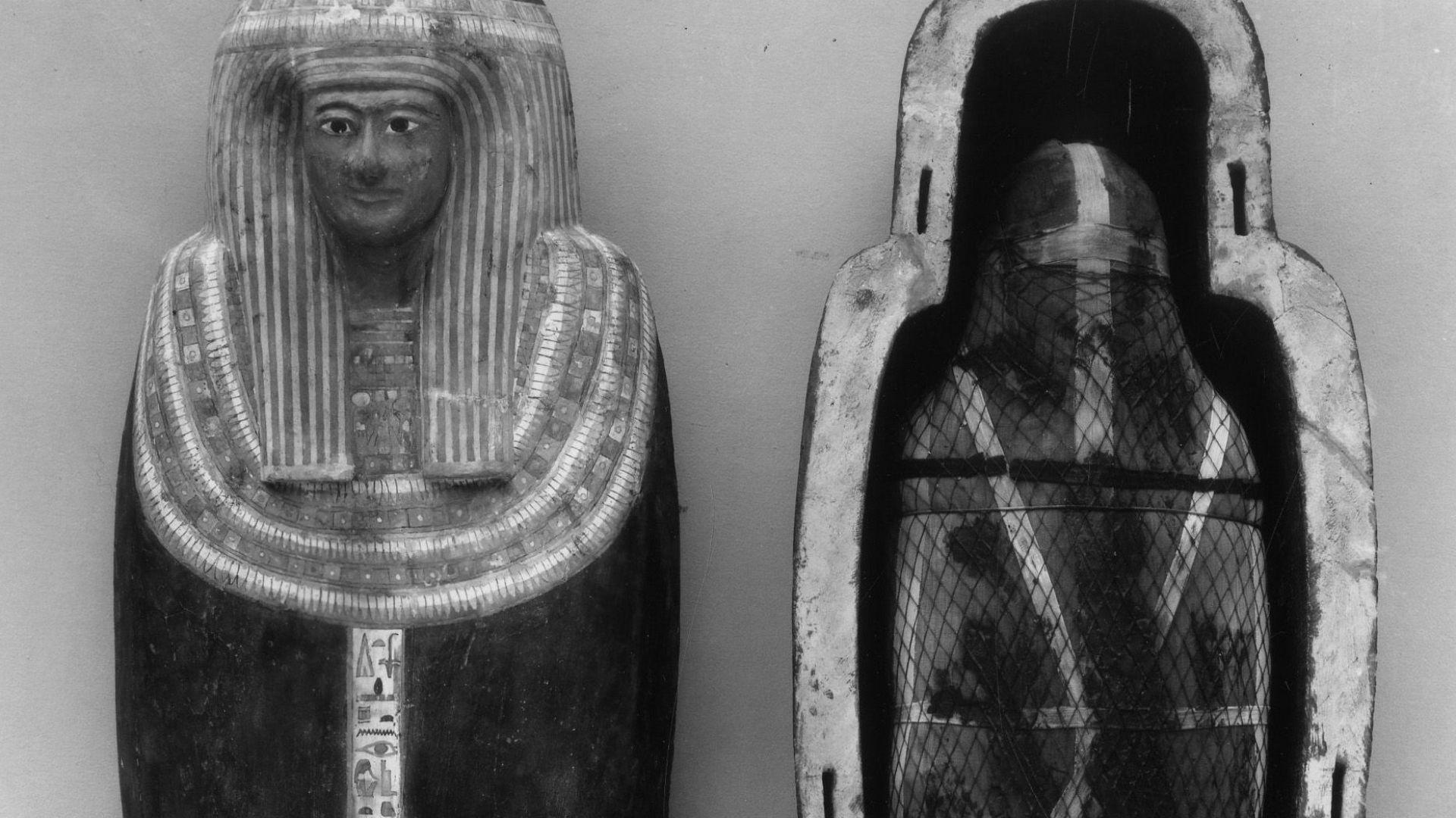 Мумия на 3000 г. проговори с нова технология