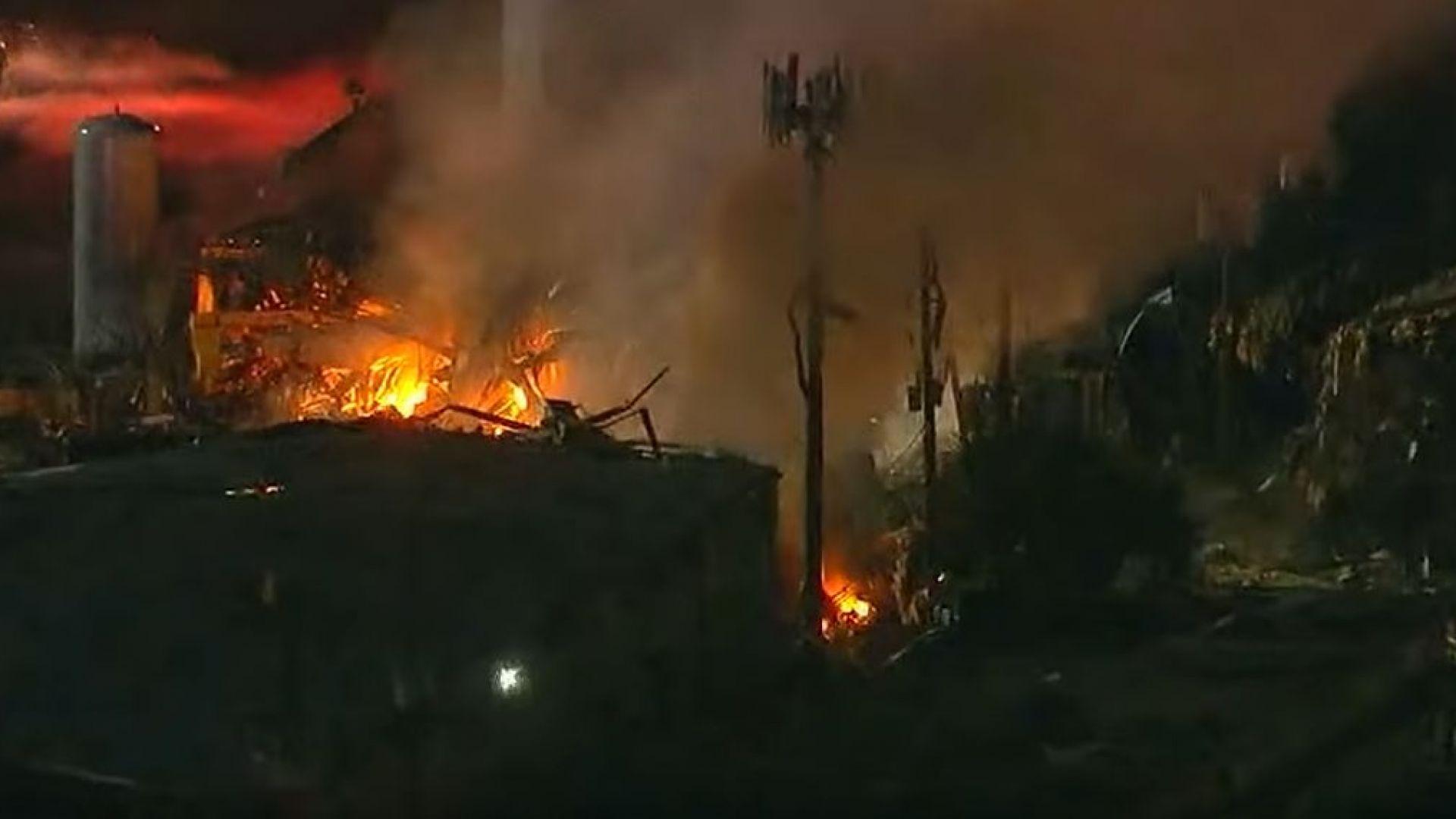 Мощна експлозия разтърси рано тази сутрин тексаския град Хюстън, съобщиха