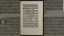 ФБР откри откраднато 500-годишно копие на писмо на Христофор Колумб