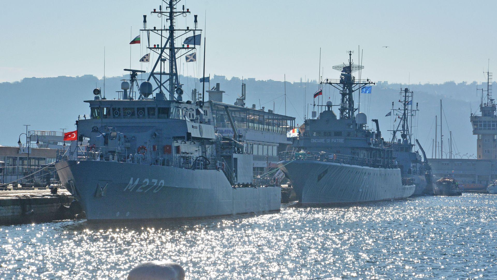 Кораби на НАТО пристигнаха за 2 дни във Варна