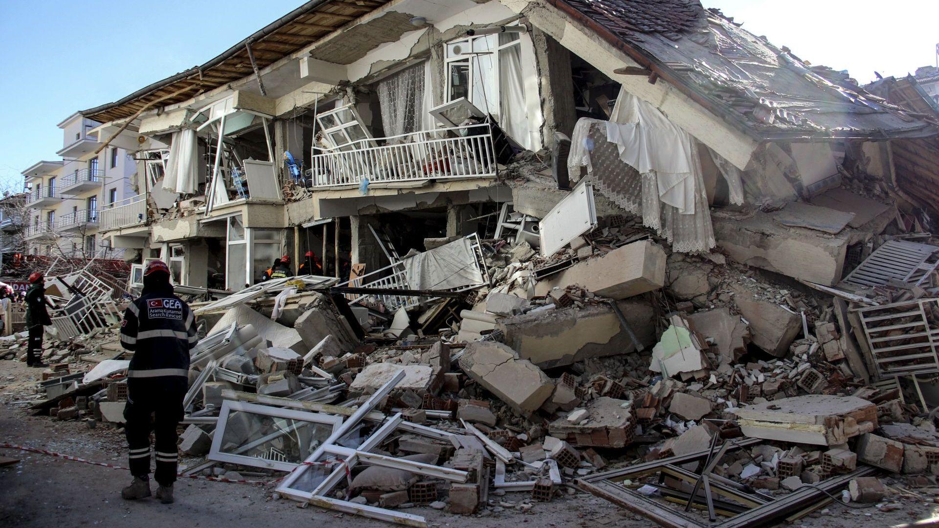 Земетресение с магнитуд 5.1 по Рихтер е регистрирано в източната