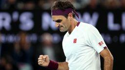 Федерер даде сет, но не допусна изненада в Мелбърн
