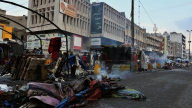 Ракетен удар срещу посолството на САЩ в Багдад