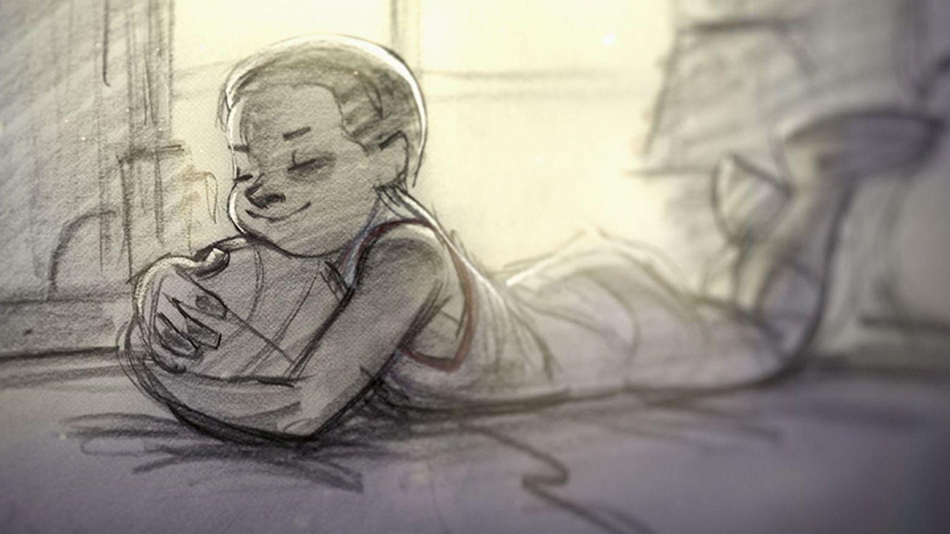 Поемата и филмът, с които Коби се обясни в любов на баскетбола (видео)