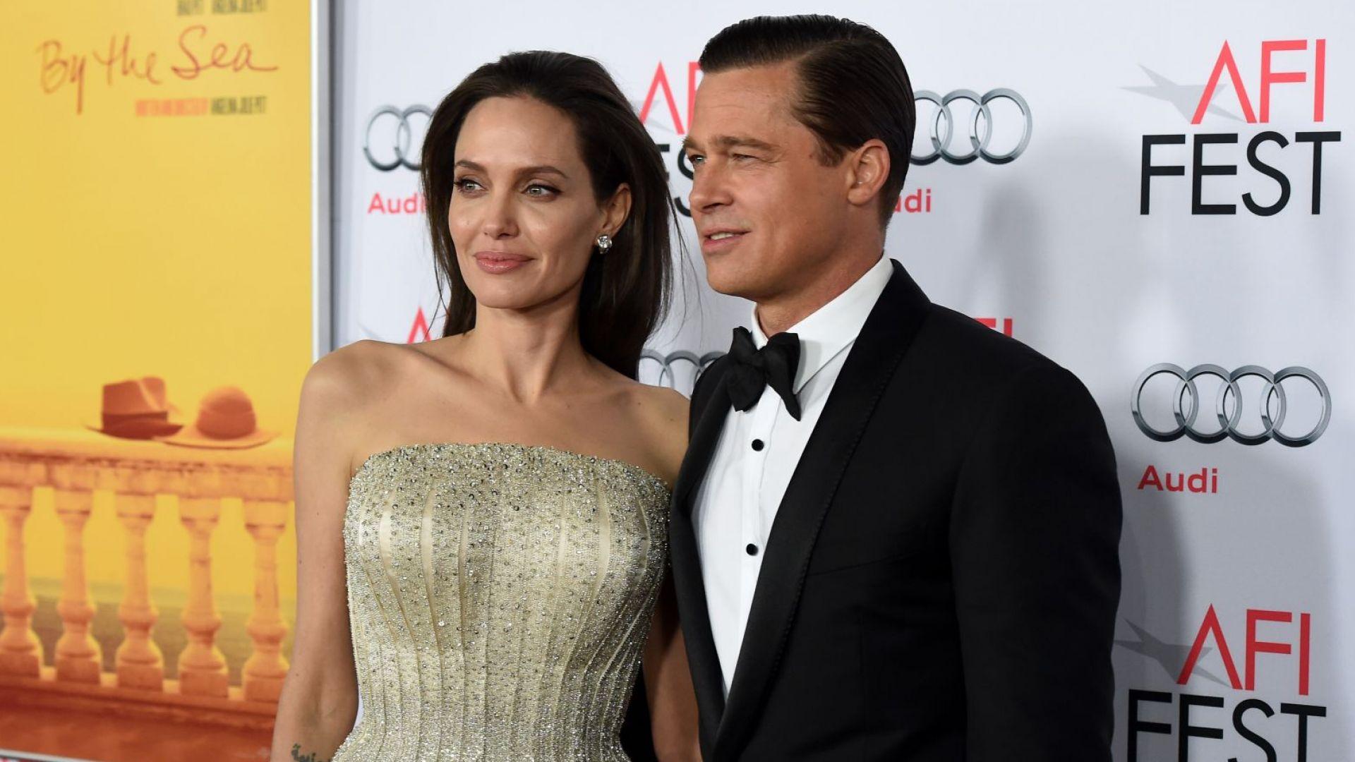 Въпреки развода, Анджелина и Брад с ново бизнес начинание