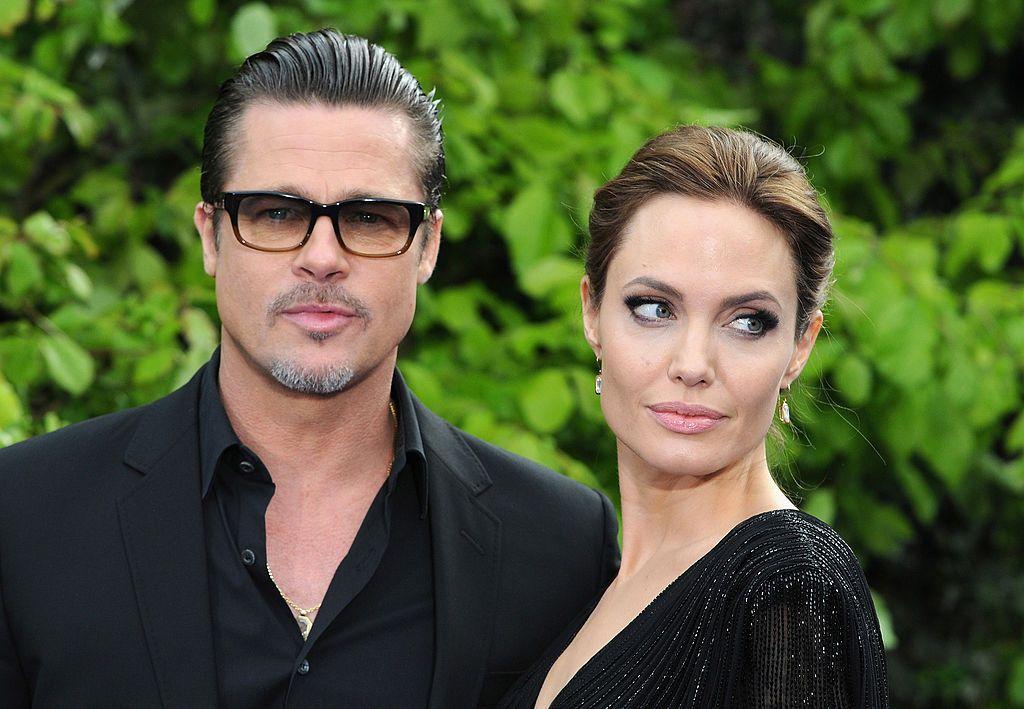 Брад и Анджелина Джоли