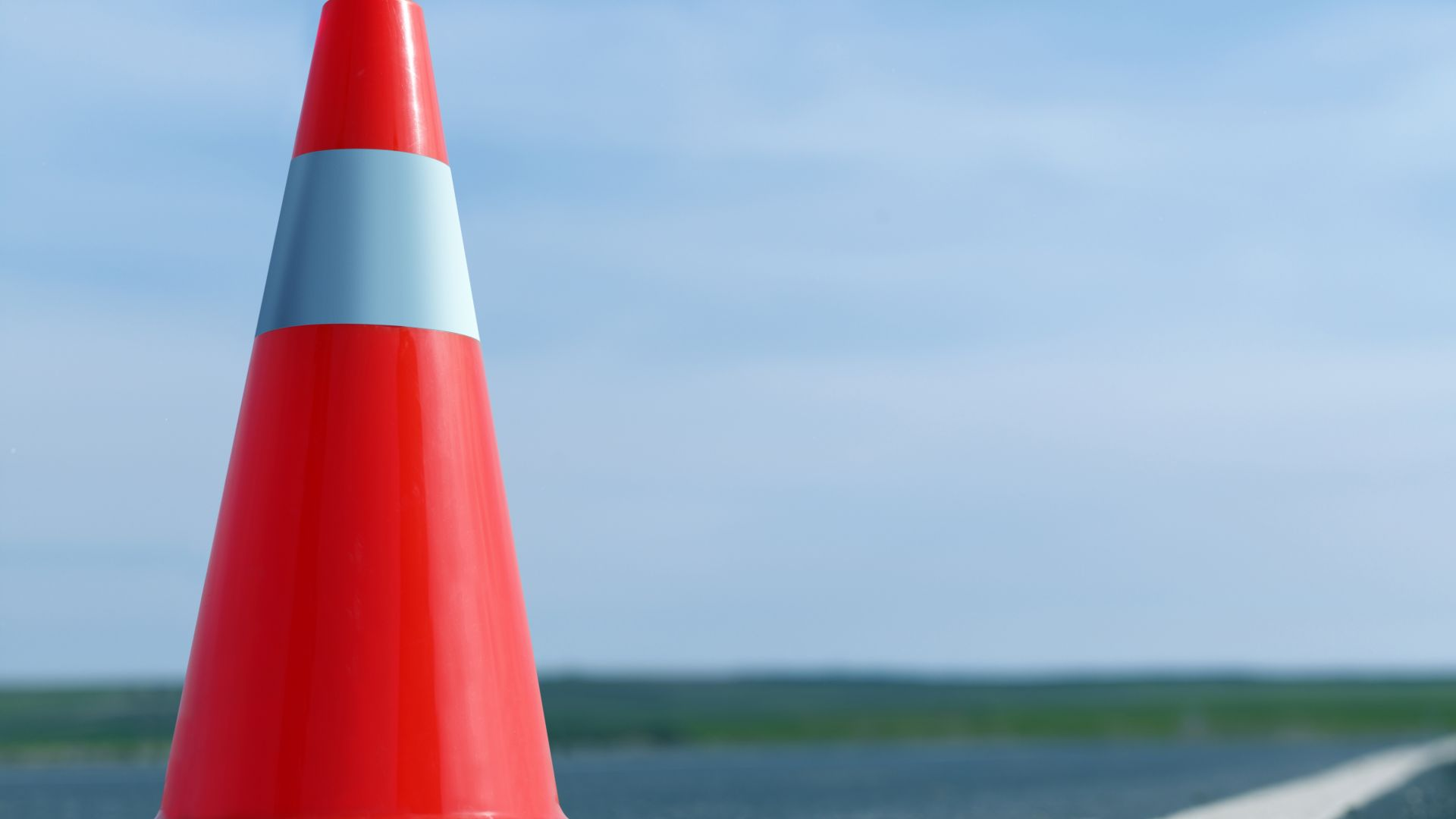 Катастрофа временно затвори пътя Русе-Разград