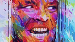Ярките абстрактни портрети на Кaneda, вдъхновени от попкултурата
