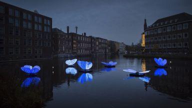 Снимки от последния фестивал на светлините в Амстердам