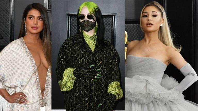 """Страшните и прекрасните: тоалетите на наградите """"Грами"""""""