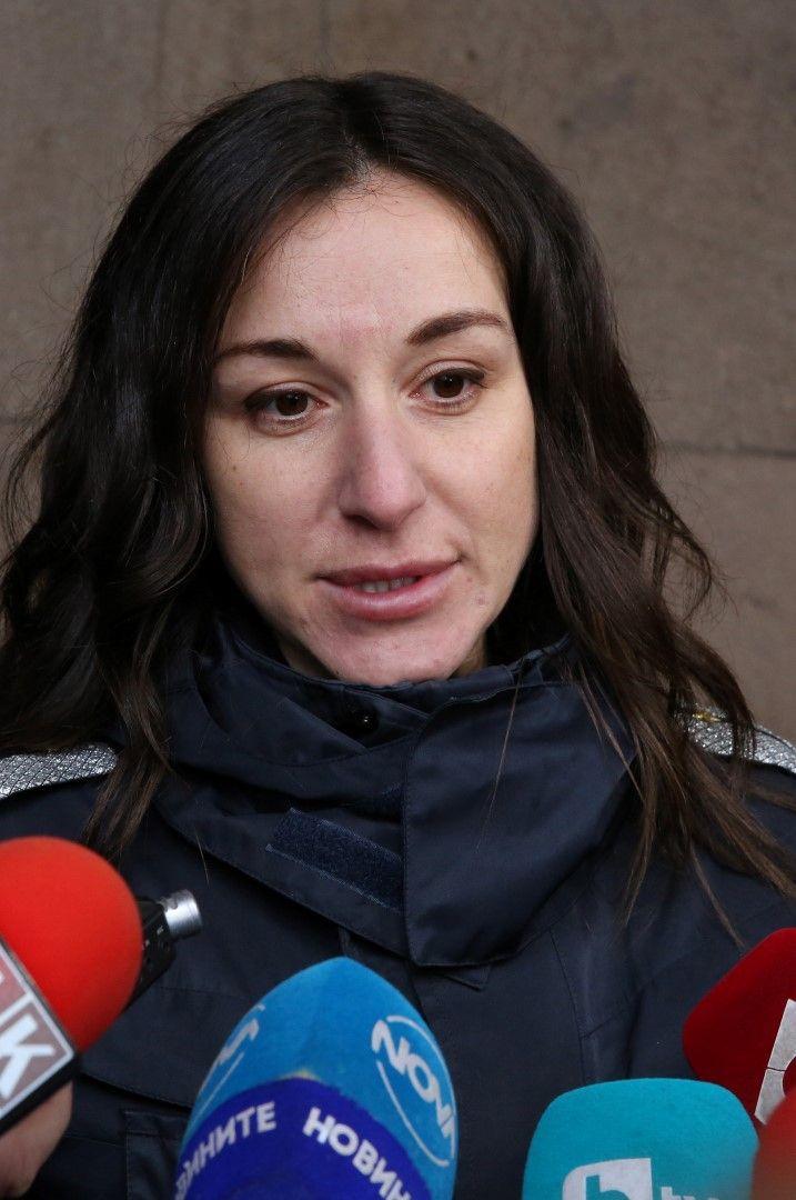 Пострадалият полицай инспектор Александра Николова