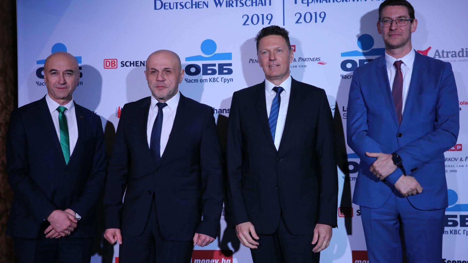 Томислав Дончев: Германия е стратегически икономически партньор на България