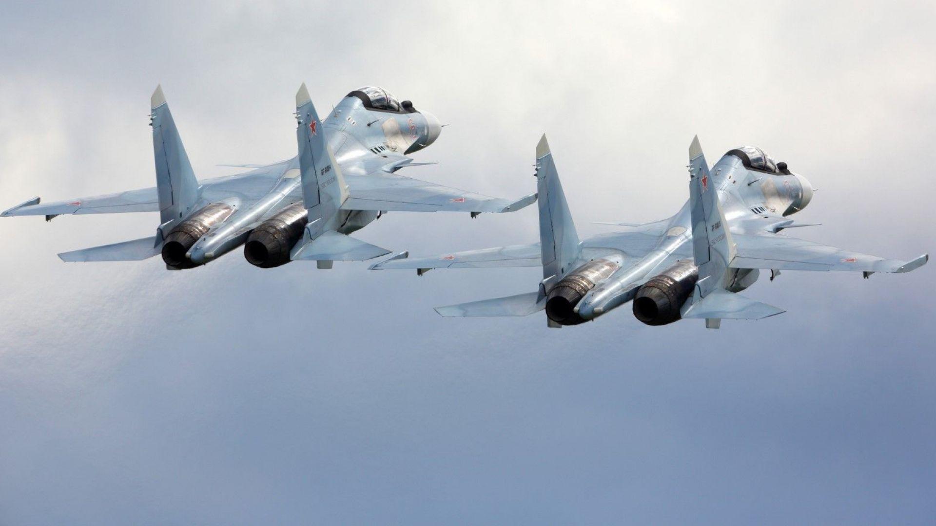 Изтребител Су-30 се разби в понеделник вечерта в провинция Ум