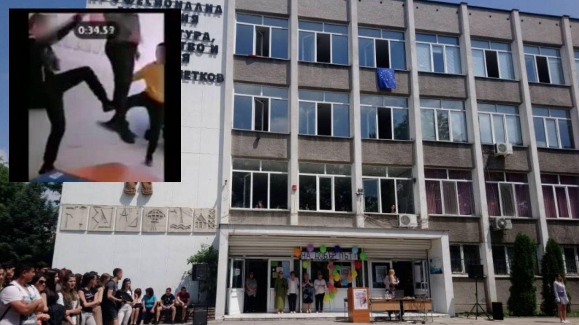 Ученик от Гимназията по архитектура, строителство и геодезия в Пловдив