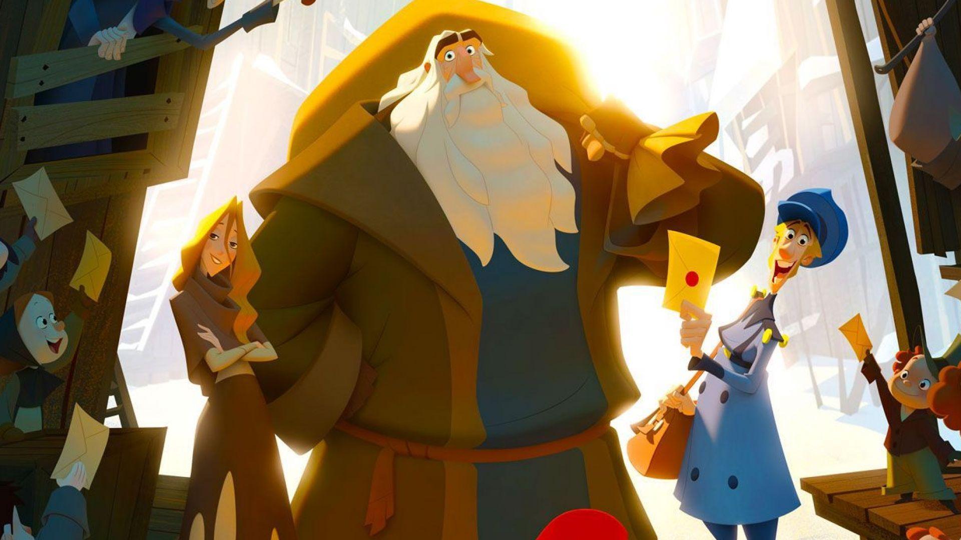 """""""Клаус"""" - първата анимация на Netflix, спечелила награда """"Ани"""""""
