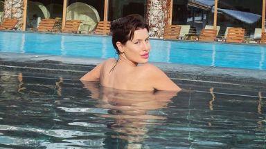 Мис България 2019 Радинела Чушева в топлите води на студена Австрия