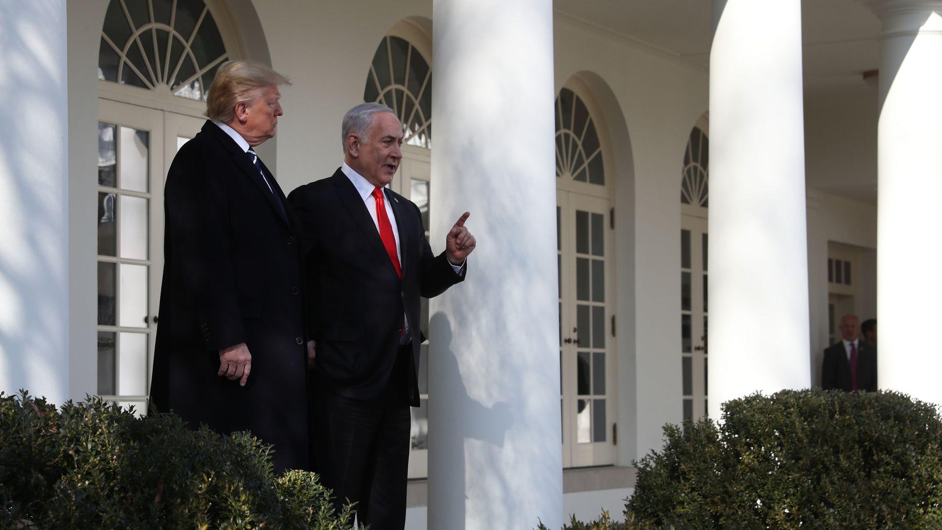 След Белия дом Нетаняху се отправи към Кремъл