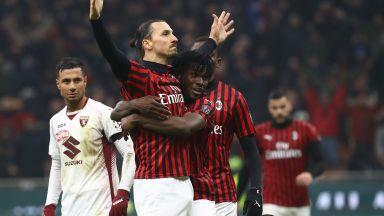 Ибра трябва да върне Милан на победния път срещу Торино