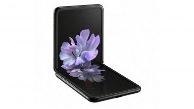 Видео показва Samsung Galaxy Z Flip в действие