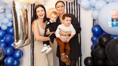 Мона Гочев отпразнува първия рожден ден на сина си със звездни гости