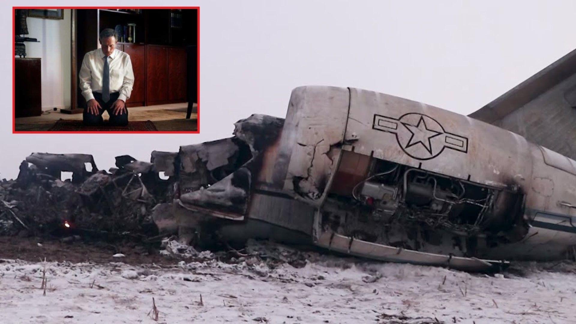 Историята за сваления в афганистанската провинция Газни самолет Bombardier E-11A