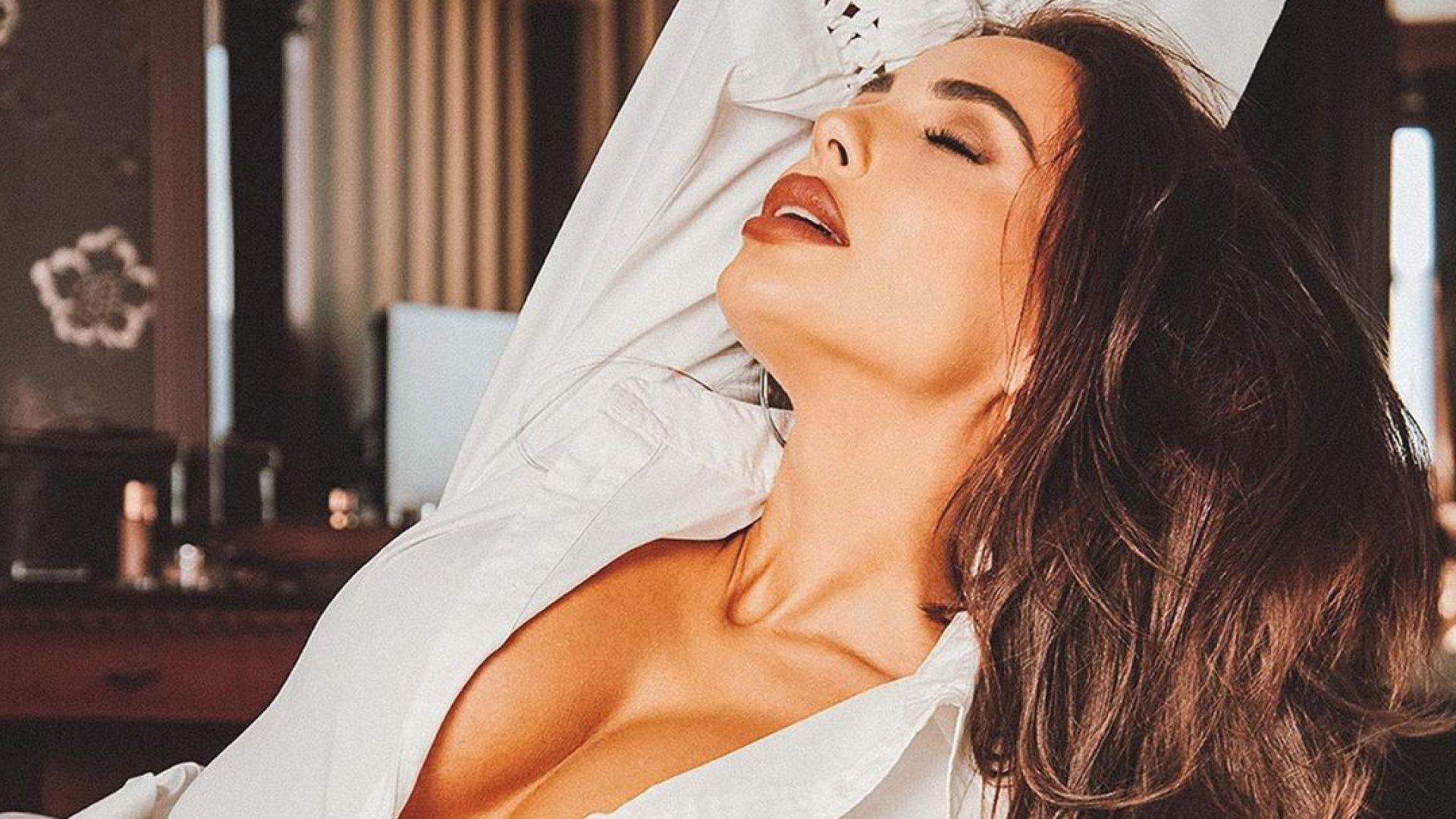 Сексапилна и под карантина: Николета Лозанова разпали мъжките фантазии с гола снимка