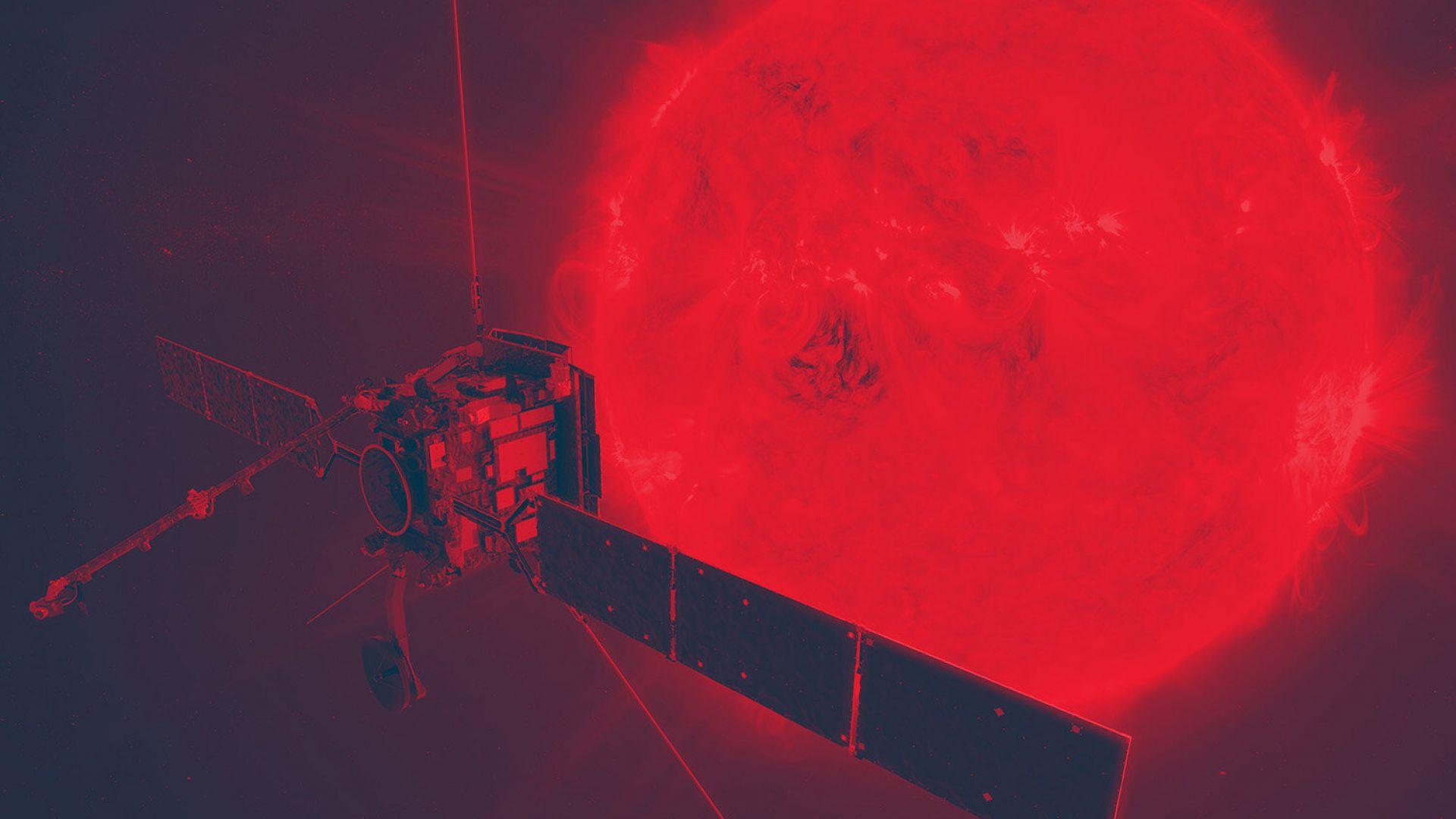 """Европейската сонда """"Солар орбитър"""" днес се доближава за първи път до Слънцето"""