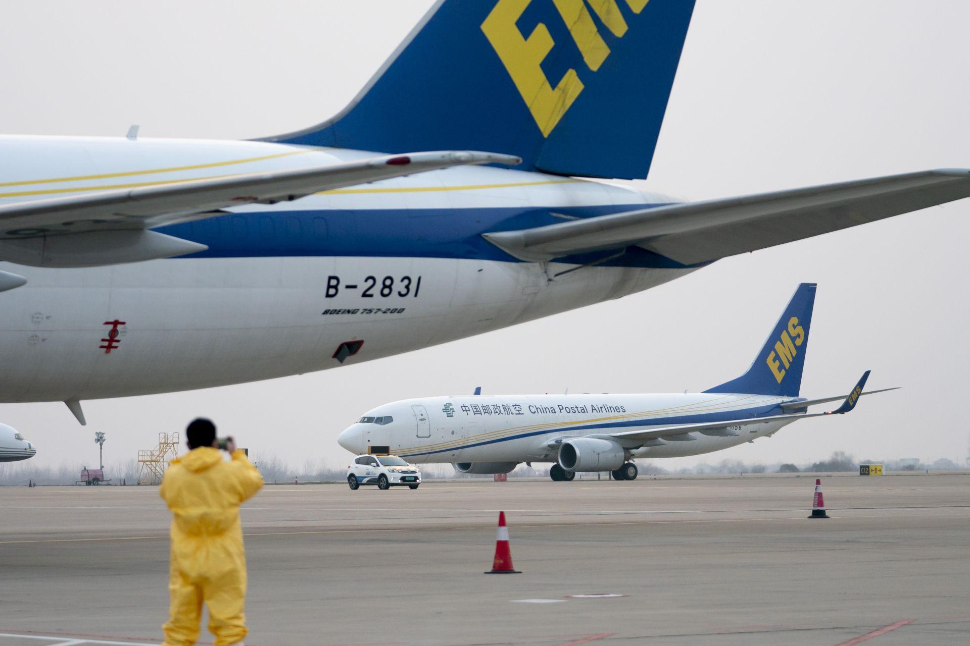 Японският самолетът в Ухан, който прибра свои граждани вчера