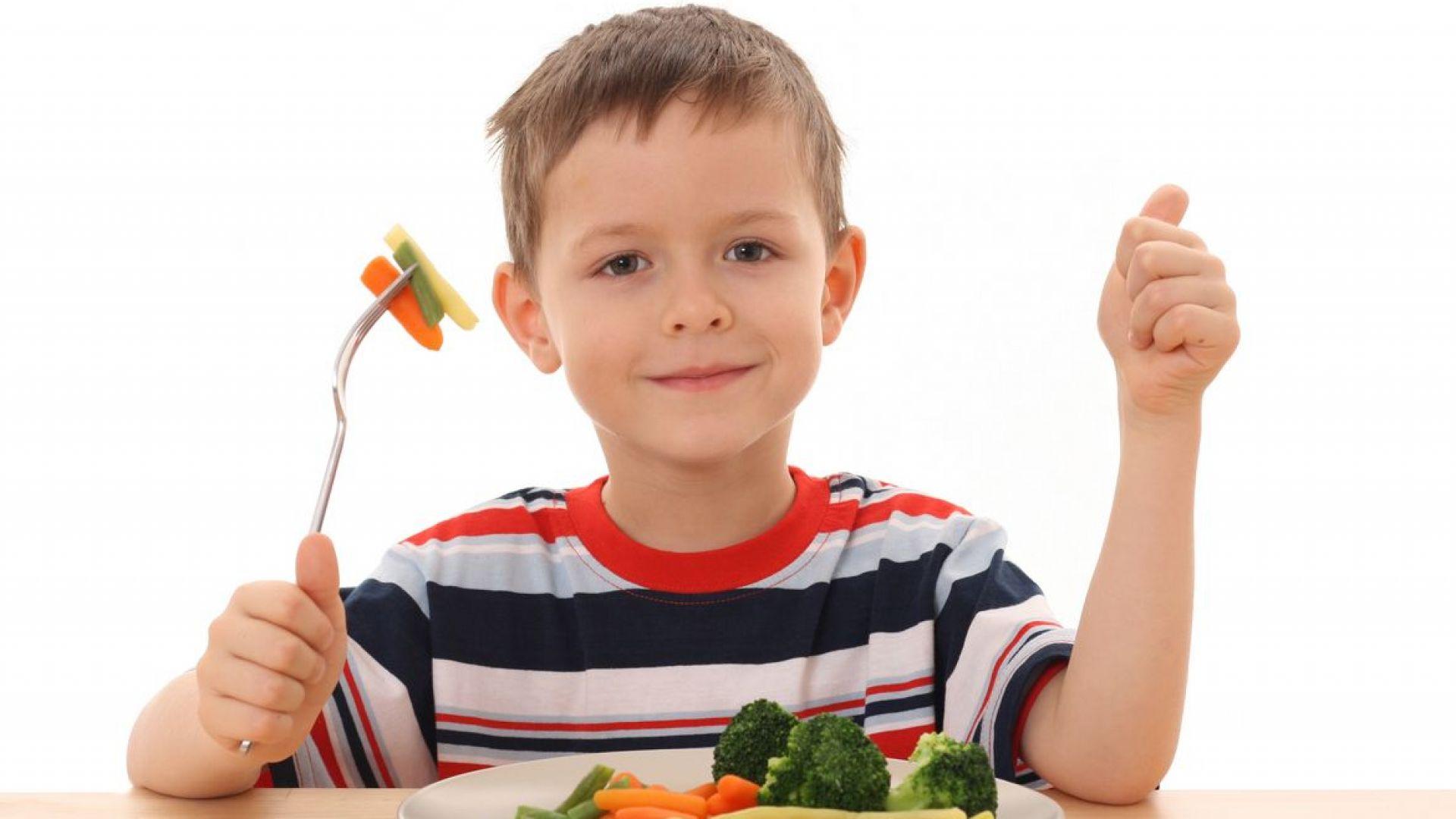 Най-полезни за децата са храните, богати на желязо