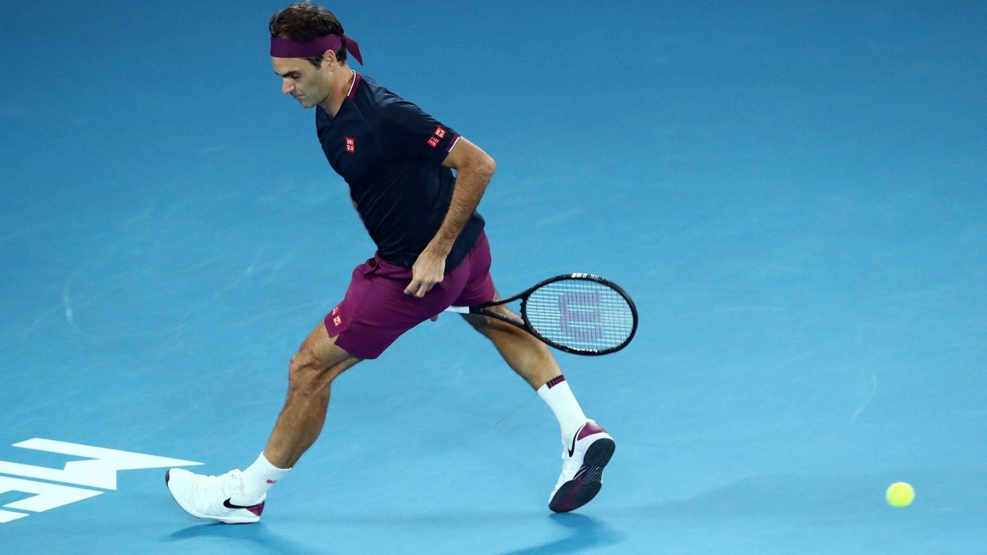 Федерер се прицели в завръщане през март и си пожела още велики победи