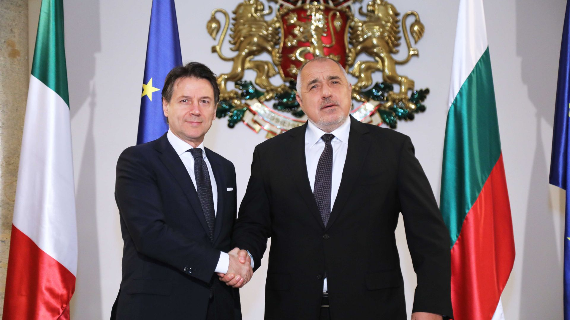 Министър-председателят Бойко Борисов проведе телефонен разговор с премиера на Италианската