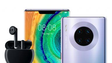 Huawei Mate 30 Pro в комплект с FreeBuds 3 вече е в магазините в София