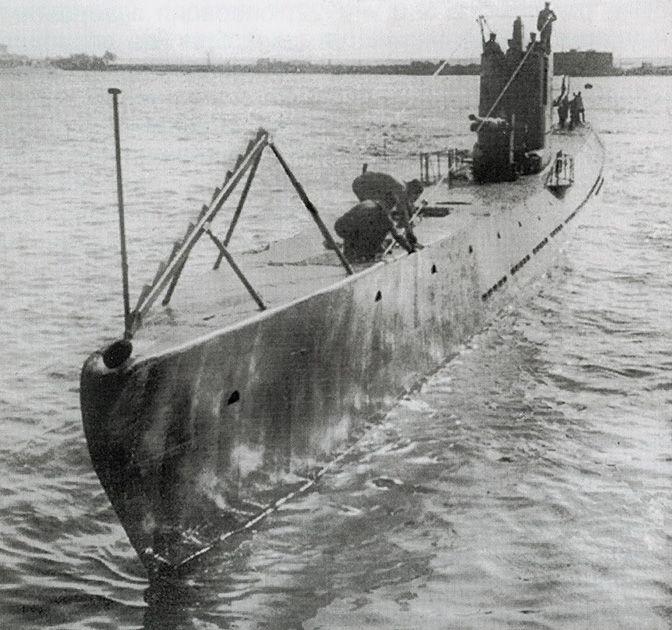 Руската подводница С-13