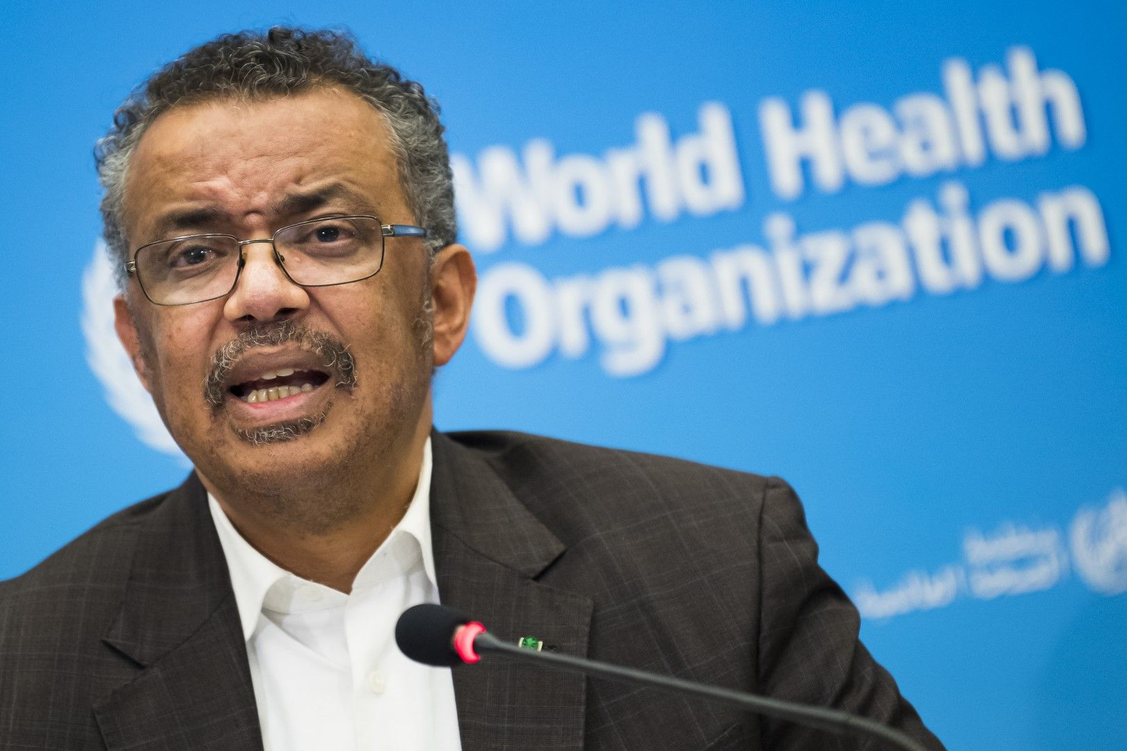 Генералният директор на СЗО Тедрос Аданом Гебрейесус: Против сме каквото и да било ограничаване на пътуванията