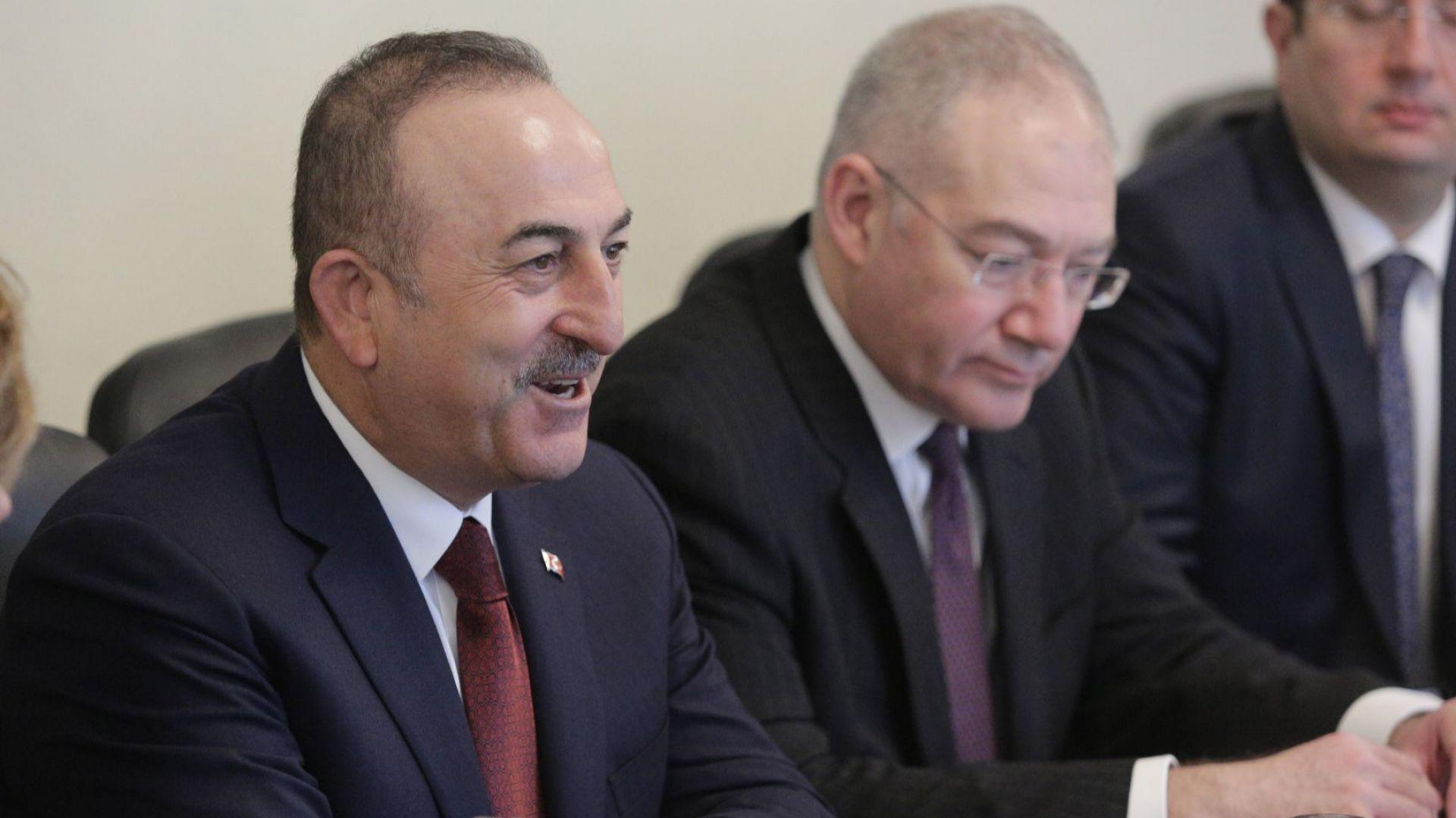 Мевлют Чавушоглу: България за нас е не просто съсед, а съюзник и приятел