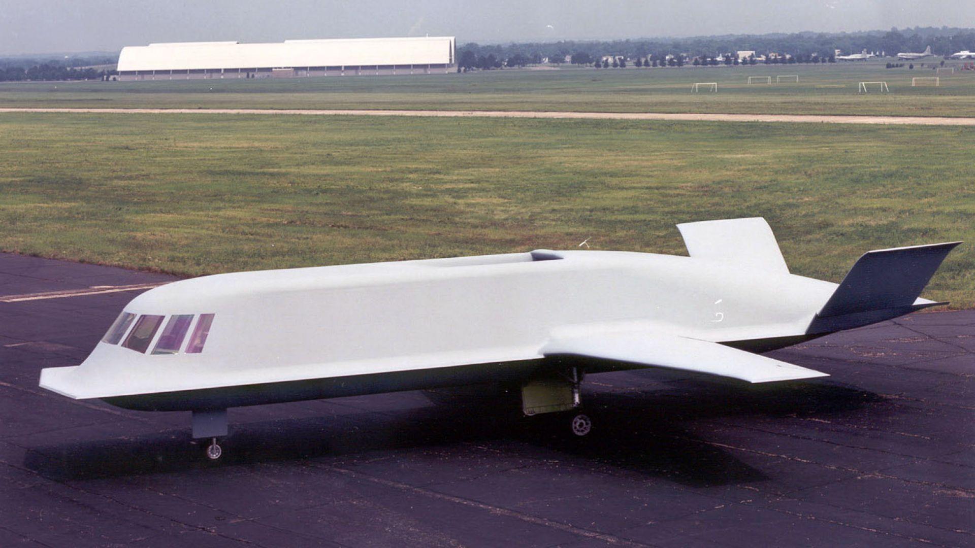 Това е един от най-любопитните стелт самолети