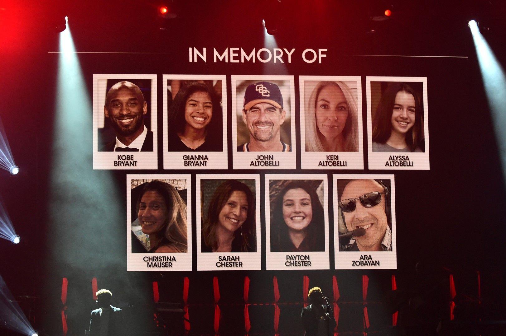 Почит към загиналите в трагедията от Калифорния миналата неделя съпроводи всички събития и партита в седмицата на Супербоул в Маями