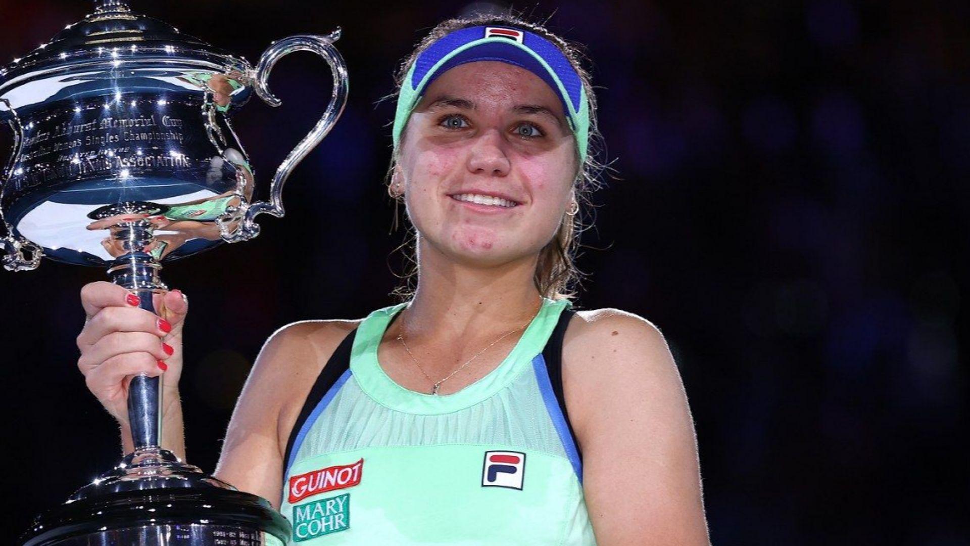 Рускиня върна в САЩ титлата на Australian Open