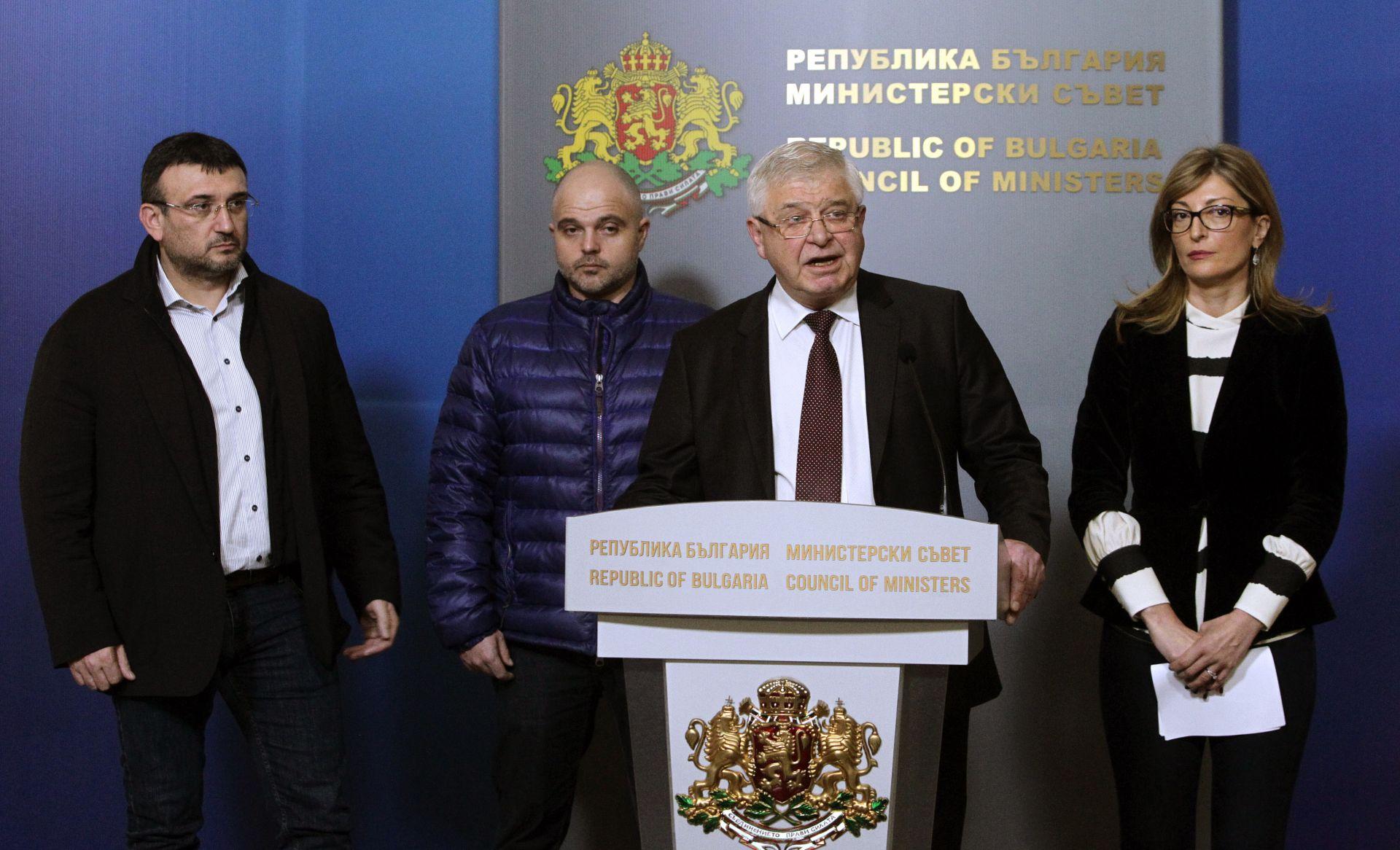Кирил Ананиев по време на пресконференцията след съвещанието