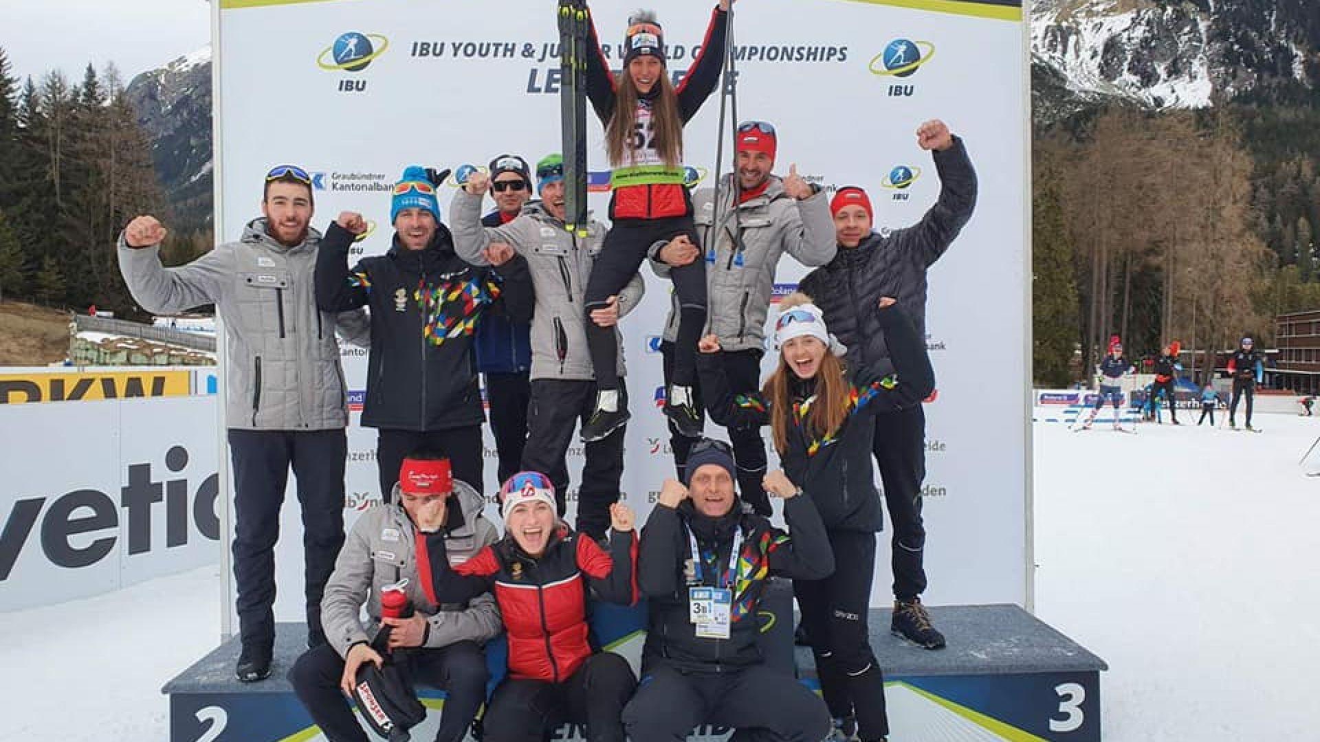 Надеждата ни в биатлона Милена Тодорова отново спечели медал от Световното