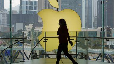 Епъл за кратко изпревари Сауди Арамко като най-скъпата компания в света