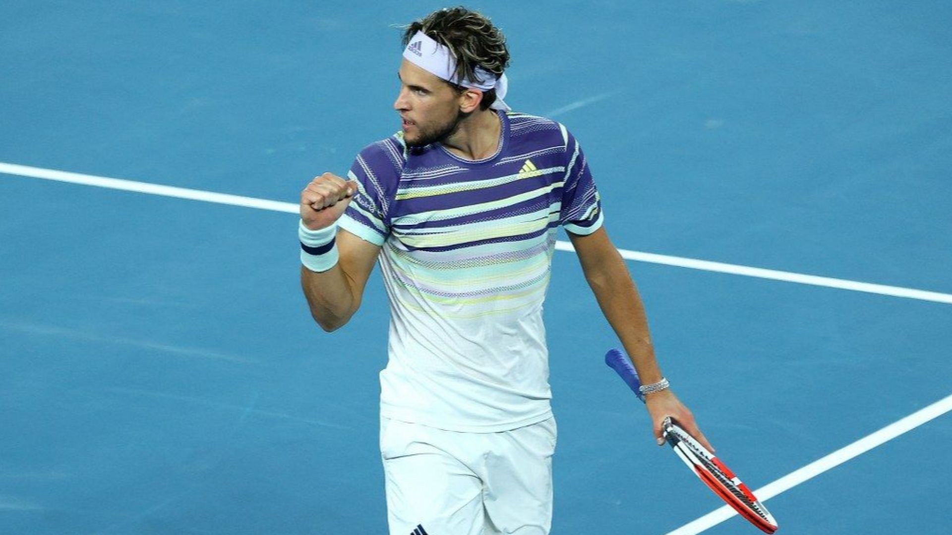 Доминик Тийм размести пластовете във върха на тениса