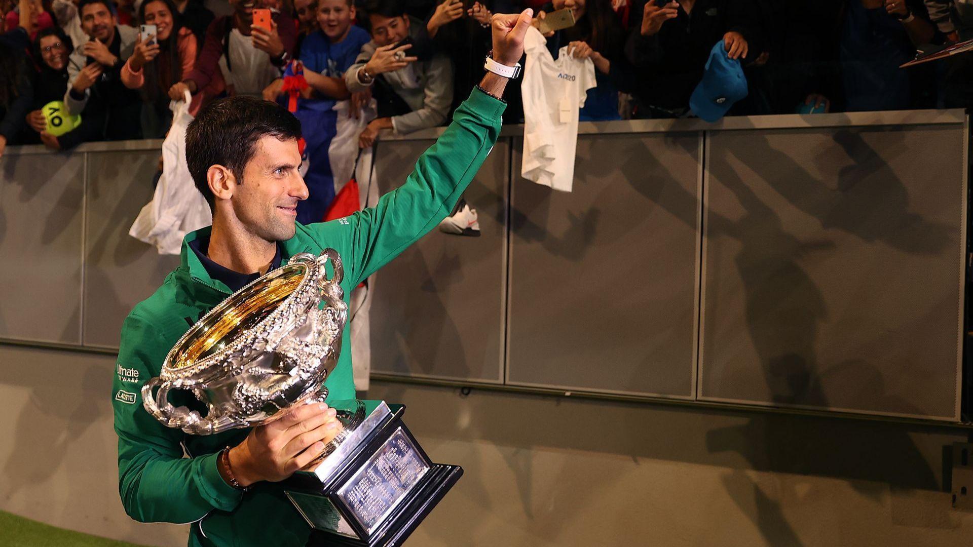 Шампионът и нов №1 Ноле с емоционална реч след победата