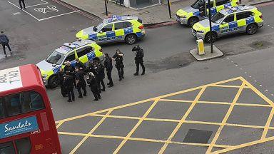 Полицията застреля мъж, ранил трима с мачете в Лондон