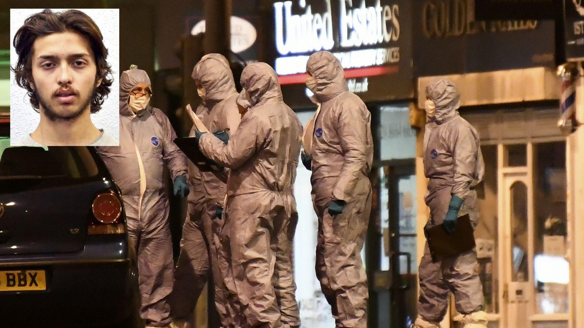 Нападателят от Лондон е осъден терорист, наскоро освободен от затвора (видео)