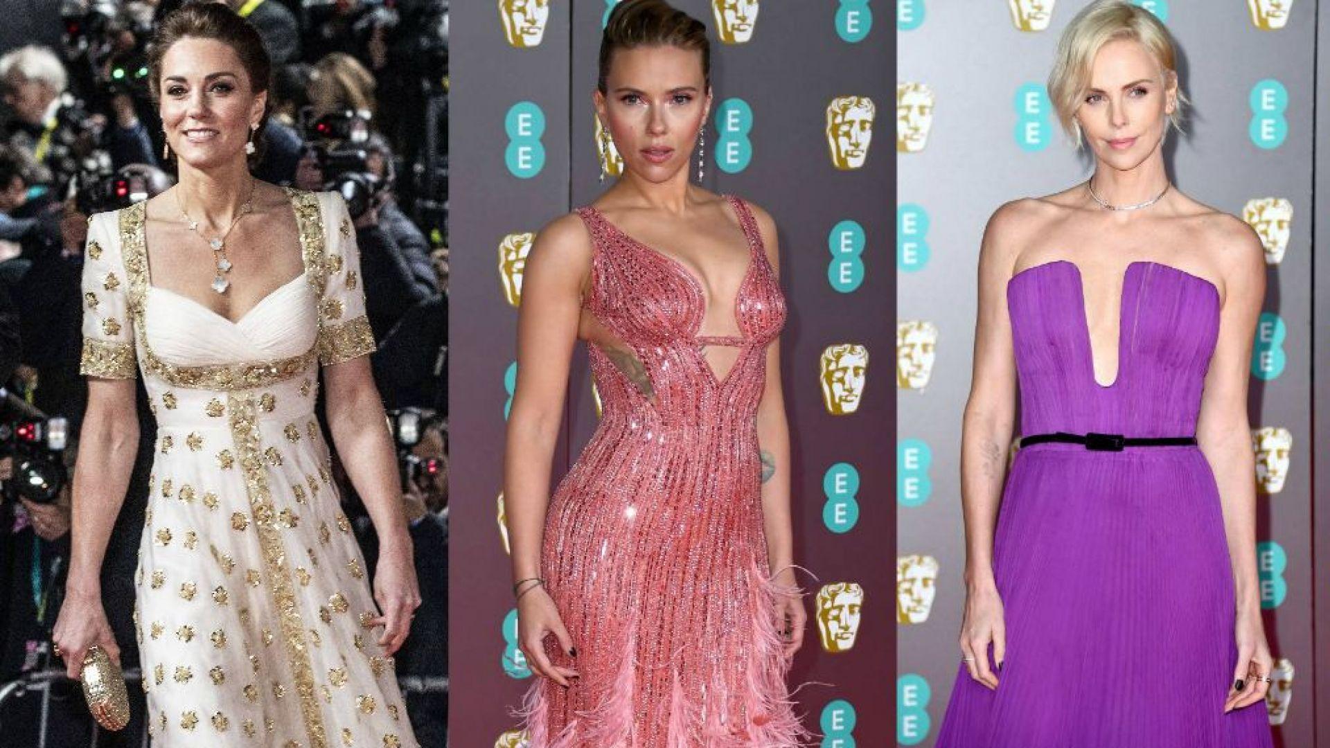 """Принцеса сред звезди – """"устойчива мода"""" със стил на наградите БАФТА"""