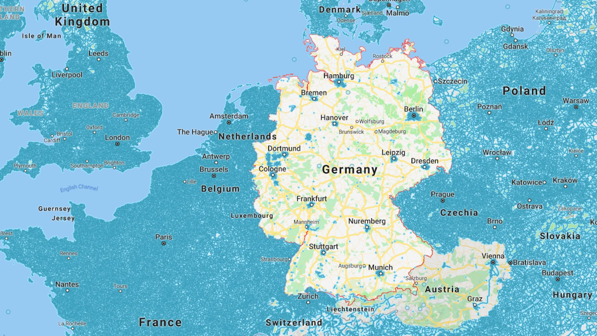 Защо Германия и Австрия липсват от Google Street View
